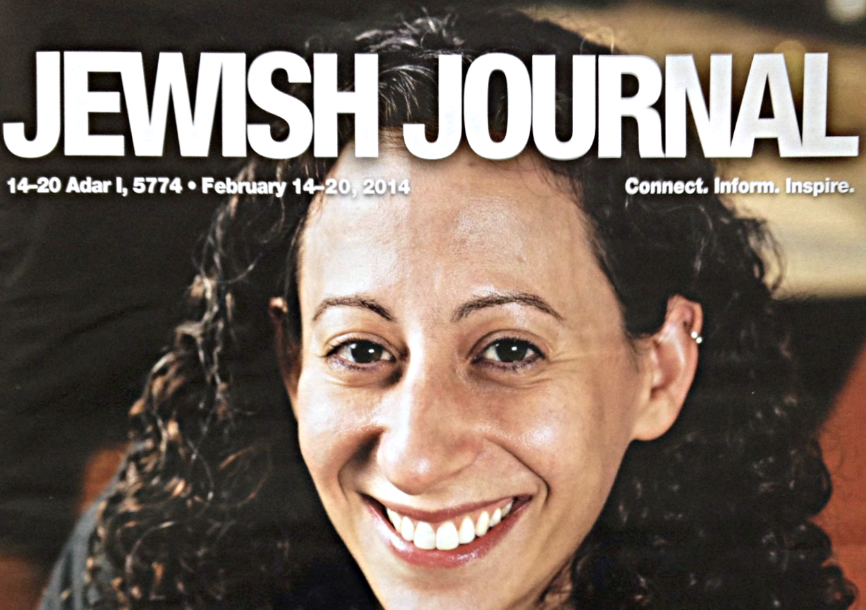 Cooking Up Romance Jewish Journal Cover