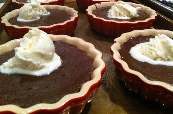 flourless chocolate cakes