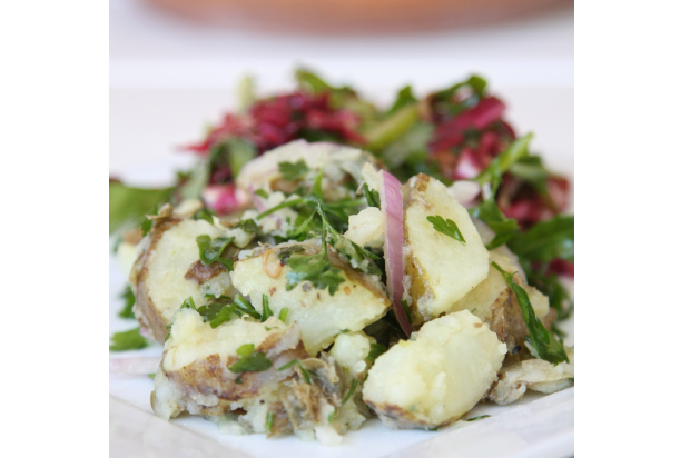 Olive Oil Potato Salad Meal And A Spiel