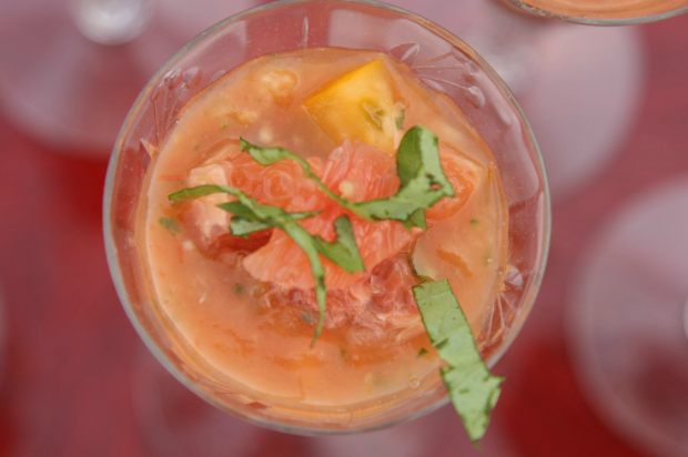Heirloom Tomato Gazpacho 620x412