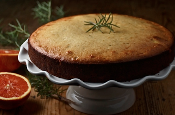 Rosemary Almond Cake - Foodista