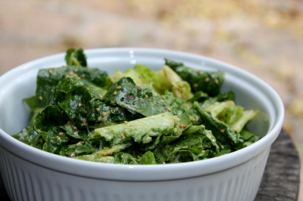 Vegan Seize Her Salad